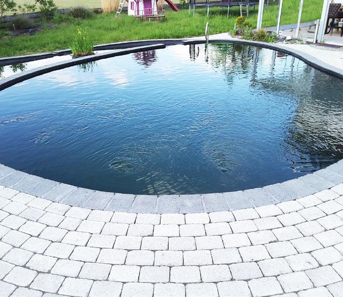 Schwimmteich in Lamme